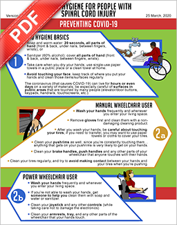 PDF Document: HAND HYGIENE FOR PEOPLE WITH SPINAL CORD INJURY – PREVENTING COVID-19